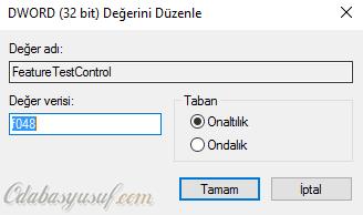 FeatureTestControl
